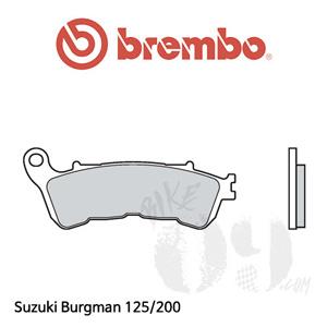 Suzuki Burgman 125/200 오토바이 브레이크 패드 브렘보 프론트