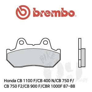 Honda CB 1100 F/CB 400 N/CB 750 F/CB 750 F2/CB 900 F/CBR 1000F 87-88 브레이크 패드 브렘보