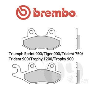Triumph Sprint 900/Tiger 900/Trident 750/Trident 900/Trophy 1200/Trophy 900 브레이크 패드 브렘보
