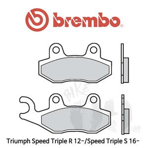 Triumph Speed Triple R 12-/Speed Triple S 16- 브레이크 패드 브렘보