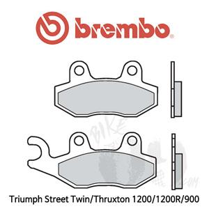 Triumph Street Twin/Thruxton 1200/1200R/900 오토바이 브레이크 패드 브렘보