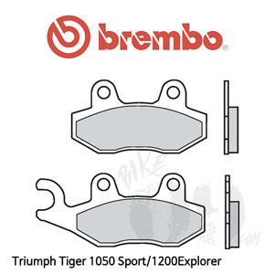 Triumph Tiger 1050 Sport/1200Explorer 브레이크 패드 브렘보