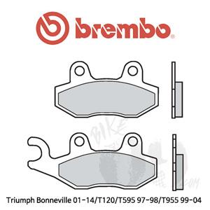 Triumph Bonneville 01-14/T120/T595 97-98/T955 99-04 브레이크 패드 브렘보