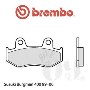 Suzuki Burgman 400 99-06 오토바이 브레이크 패드 브렘보 신터드 프론트 리어 공용