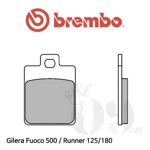 Gilera Fuoco 500 / Runner 125/180 브레이크 패드 브렘보 스쿠터 신터드