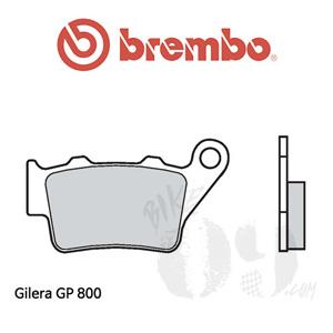Gilera GP 800 리어용 브레이크 패드 브렘보 로드