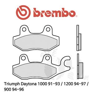 Triumph Daytona 1000 91-93 / 1200 94-97 / 900 94-96 / 리어용 브레이크 패드 브렘보