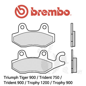 Triumph Tiger 900 / Trident 750 / Trident 900 / Trophy 1200 / Trophy 900 / 리어용 오토바이 브레이크 패드 브렘보