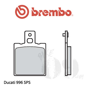 두카티 996 SPS 브레이크패드 브렘보