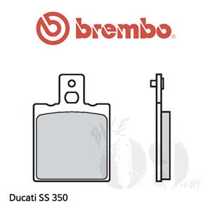 두카티 SS 350 브레이크패드 브렘보