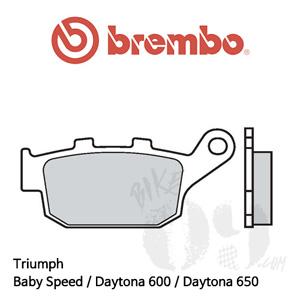 Triumph Baby Speed / Daytona 600 / Daytona 650 / 브레이크 패드 브렘보 신터드