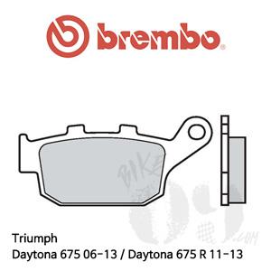 Triumph Daytona 675 06-13 / Daytona 675 R 11-13 / 브레이크 패드 브렘보 신터드