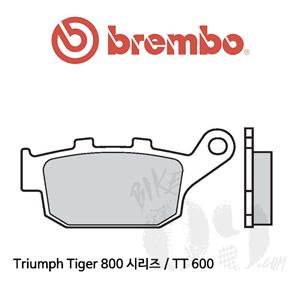 Triumph Tiger 800 시리즈 / TT 600 / 브레이크 패드 브렘보 신터드