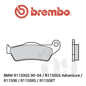 BMW R1150GS 99-04 / R1150GS Adventure / R1150R / R1150RS / R1150RT / 카본세라믹 리어용 오토바이 브레이크패드 브렘보