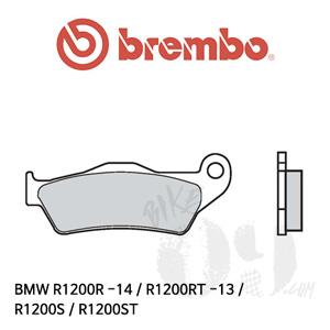 BMW R1200R -14 / R1200RT -13 / R1200S / R1200ST / 카본세라믹 리어용 브레이크패드 브렘보
