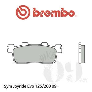 Sym 조이라이더 Evo 125/200 09- 브레이크패드 브렘보