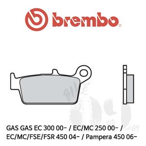 GAS GAS EC 300 00- / EC/MC 250 00- / EC/MC/FSE/FSR 450 04- / Pampera 450 06- / 오토바이 브레이크패드 브렘보 신터드 오프로드