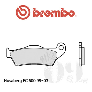 Husaberg FC 600 99-03 브레이크패드 브렘보 신터드