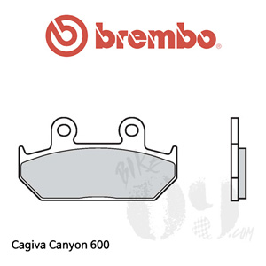Cagiva Canyon 600 브레이크패드 브렘보 신터드 스트리트