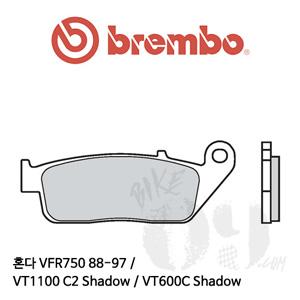 혼다 VFR750 88-97 / VT1100 C2 Shadow / VT600C Shadow / 브레이크패드 브렘보 신터드 스트리트