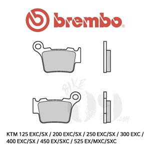 KTM 125 EXC/SX / 200 EXC/SX / 250 EXC/SX / 300 EXC / 400 EXC/SX / 450 EX/SXC / 525 EX/MXC/SXC / 브레이크패드 브렘보