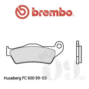 Husaberg FC 600 99-03 / 브레이크패드 브렘보 신터드