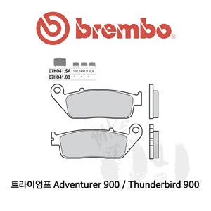 트라이엄프 Adventurer 900 / Thunderbird 900 / 오토바이 브레이크패드 브렘보 신터드 스트리트