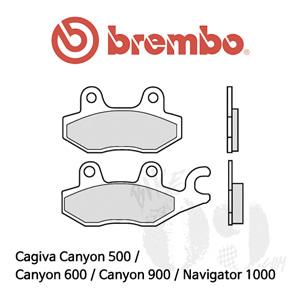 Cagiva Canyon 500 / Canyon 600 / Canyon 900 / Navigator 1000 / 리어용 브레이크패드 브렘보 신터드 스트리트