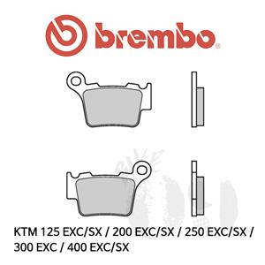 KTM 125 EXC/SX / 200 EXC/SX / 250 EXC/SX / 300 EXC / 400 EXC/SX /리어용 브레이크패드 브렘보 신터드 스트리트