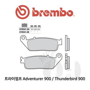 트라이엄프 Adventurer 900 / Thunderbird 900 / 오토바이 브레이크패드 브렘보 신터드 스트리트 07HO41SA