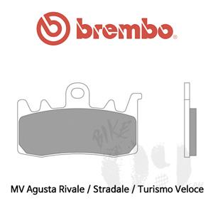 MV Agusta Rivale / Stradale / Turismo Veloce / 오토바이 브레이크패드 브렘보 신터드 레이싱