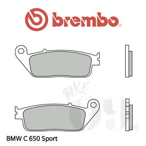 BMW C650Sport 오토바이 브레이크패드 브렘보