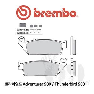 트라이엄프 Adventurer 900 / Thunderbird 900 / 오토바이 브레이크패드 브렘보 신터드 레이싱