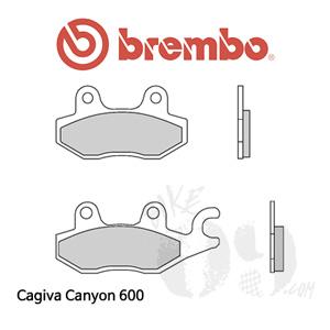 Cagiva Canyon 600 브레이크패드 브렘보 신터드 레이싱