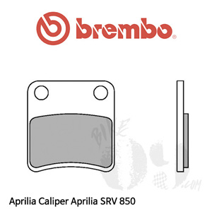 아프릴리아 SRV 850 파킹 브레이크패드 브렘보