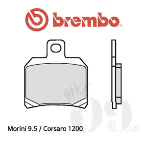 Morini 9.5 / Corsaro 1200 / 리어용 오토바이 브레이크패드 브렘보 신터드 스트리트 07BB2065