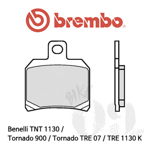 Benelli TNT 1130 / Tornado 900 / Tornado TRE 07 / TRE 1130 K / 리어용 오토바이 브레이크패드 브렘보 신터드 스트리트 07BB2065