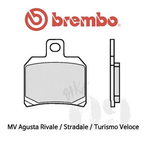 MV Agusta Rivale / Stradale / Turismo Veloce / 리어용 오토바이 브레이크패드 브렘보 신터드 스트리트 07BB2065
