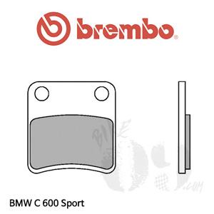 BMW C600Sport 파킹 오토바이 브레이크패드 브렘보