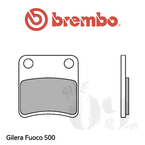 Gilera Fuoco 500 파킹 브레이크패드 브렘보