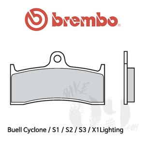 Buell Cyclone / S1 / S2 / S3 / X1Lighting 오토바이 브레이크패드 브렘보 익스트림 레이싱