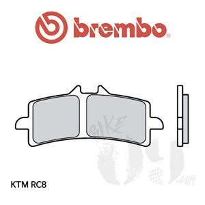 KTM RC8 브레이크패드 브렘보 신터드 스트리트