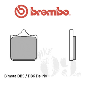 Bimota DB5 / DB6 Delirio 브레이크패드 브렘보 익스트림 레이싱