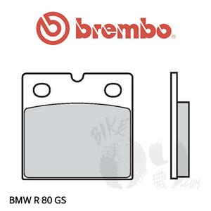 BMW R 80 GS 오토바이 브레이크패드 브렘보
