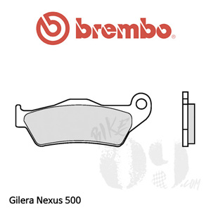 Gilera Nexus 500 브렘보 브레이크패드