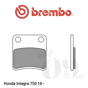 Honda Integra 750 16- 파킹 브레이크 브렘보 브레이크패드
