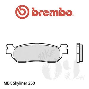 야마하 X-MAX 125/250 14- ABS 브레이크 패드 브렘보