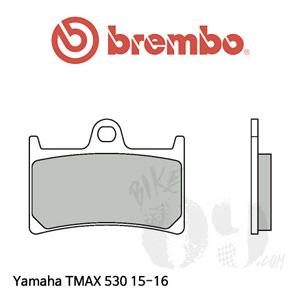 야마하 티맥스530 15-16 프론트용 브레이크 패드 브렘보