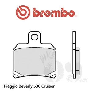 Piaggio Beverly 500 Cruiser 브레이크 패드 브렘보