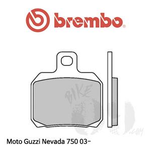모토구찌 Nevada 750 03- 리어용 브레이크 패드 브렘보